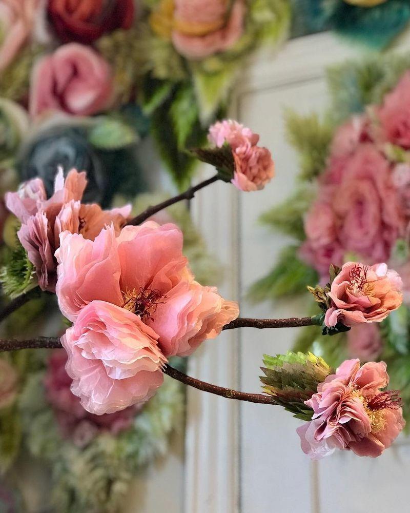 Потрясающие бумажные цветы датской художницы arianne riksen-cott ansen, фото № 20