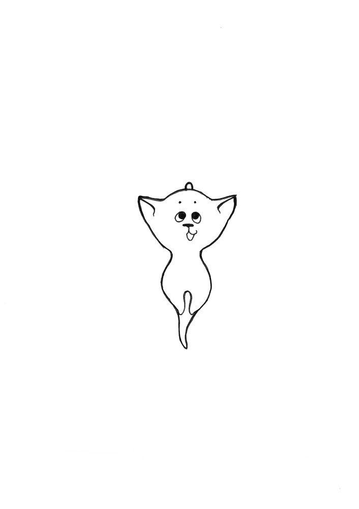 Делаем украшение из шерсти «Подвеска котёнок», фото № 3