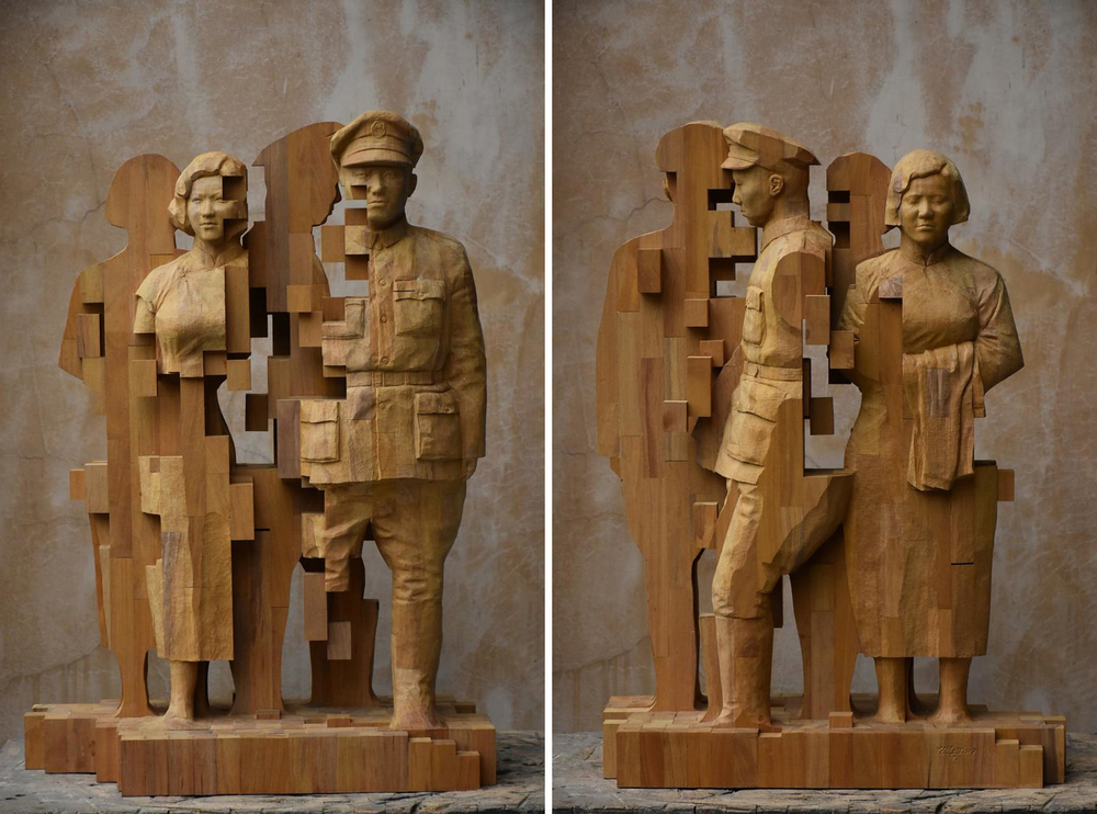 Striking Wooden Sculptures By Hsu Tung Han, фото № 22