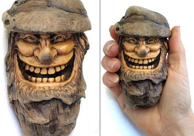 Нэнси Татл превращает коряги и обломки деревьев в сказочные деревянные скульптуры, фото № 29