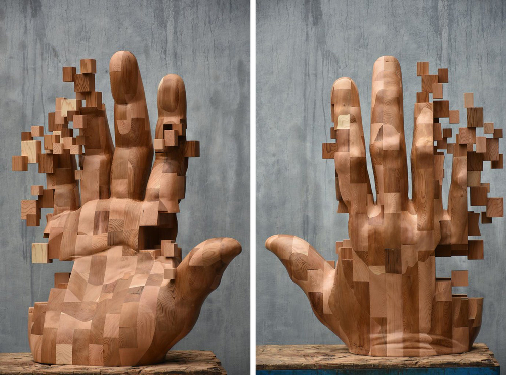 Striking Wooden Sculptures By Hsu Tung Han, фото № 7