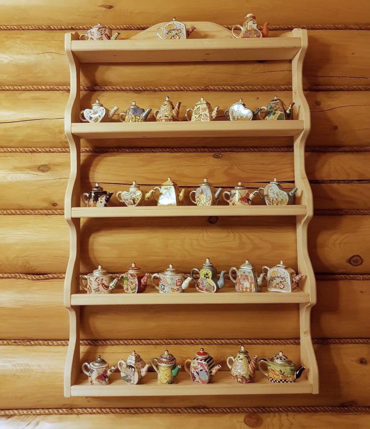 Коллекционируем красиво: 40+ впечатляющих полок для хранения коллекций, фото № 17
