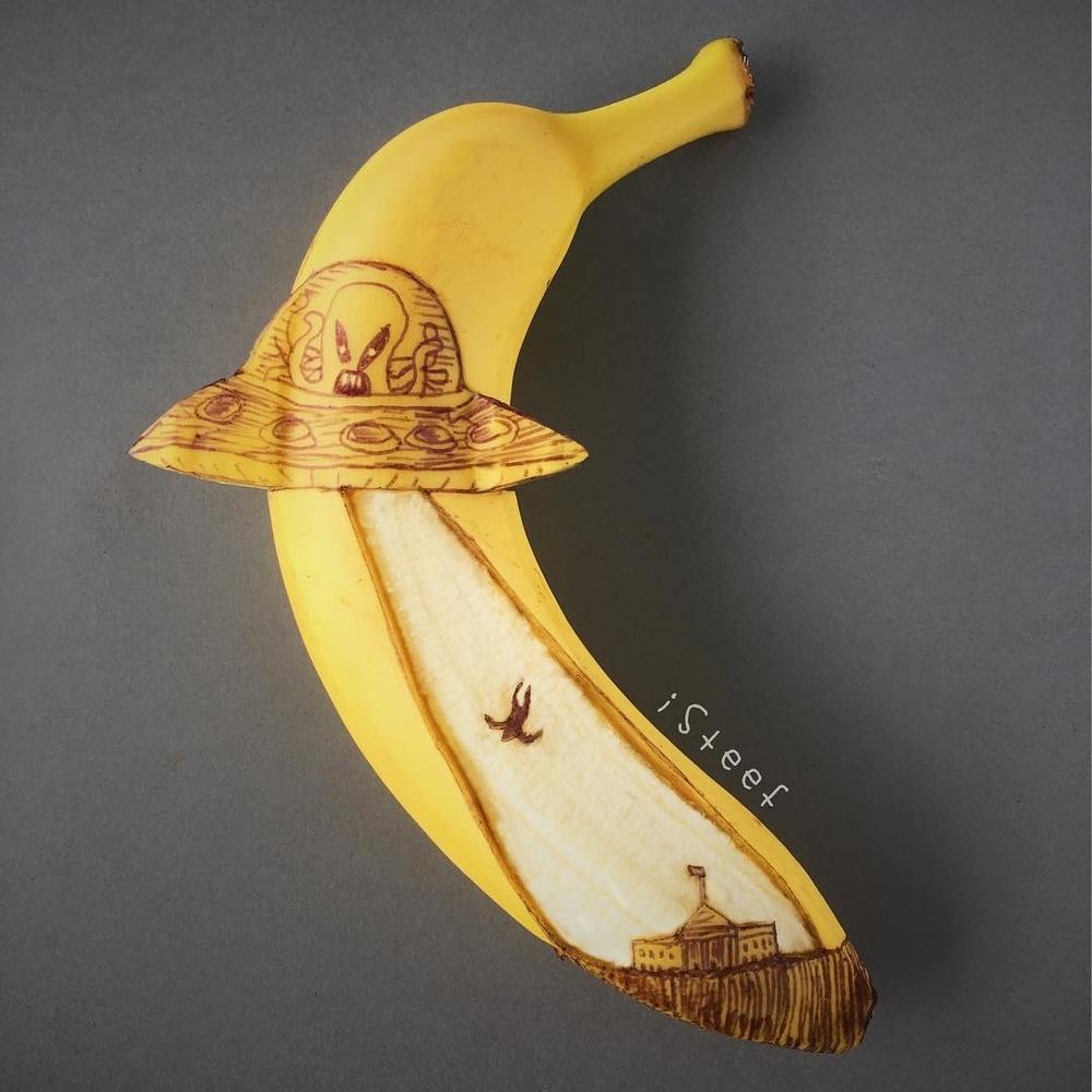 Повелитель бананов Стивен Брюче меняет наше привычное представление об этом фрукте в своём творчестве!, фото № 20