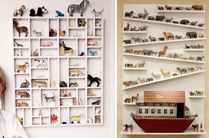 Коллекционируем красиво: 40+ впечатляющих полок для хранения коллекций, фото № 33