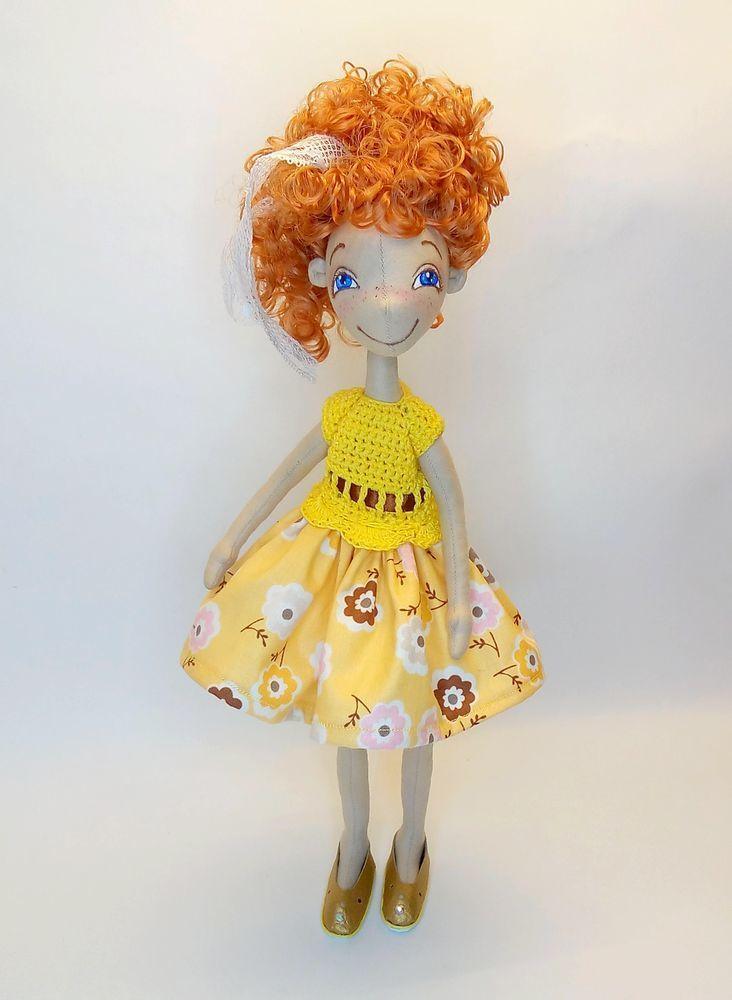 Создаем простое комбинированное платье на куколку, фото № 1