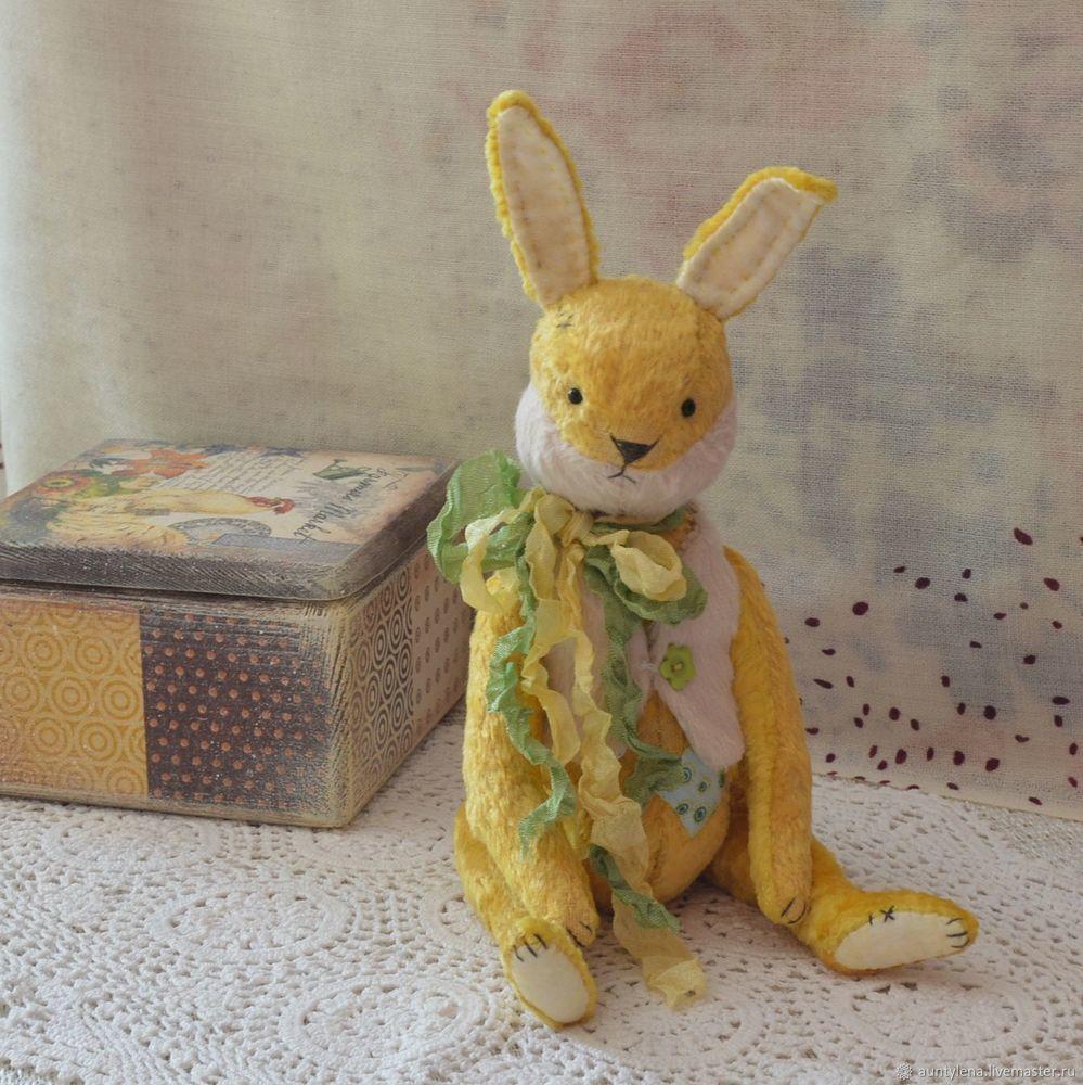 аукцион сейчас, аукцион на зайку, винтажный кролик