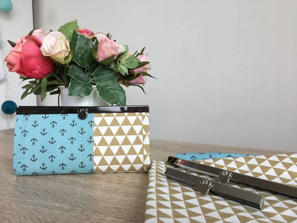sew wallet, the purse for the summer, step-by-step tutorial