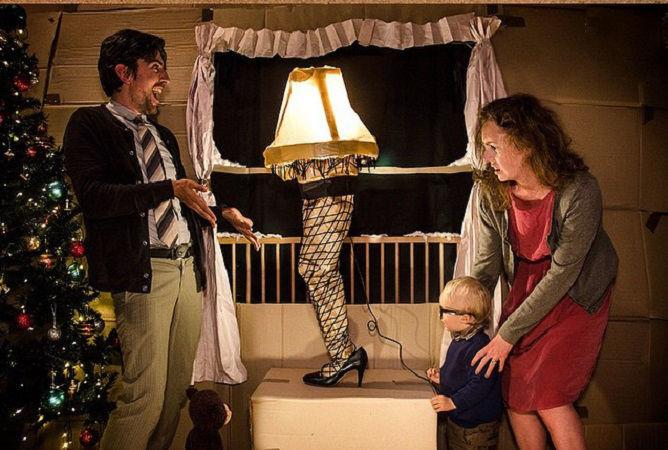 Что будет, если творческим людям дать много картонных коробок Лион Мэки и Лилли Лэнг — творческая семья киноманов, фото № 19