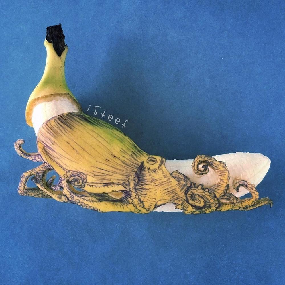 Повелитель бананов Стивен Брюче меняет наше привычное представление об этом фрукте в своём творчестве!, фото № 17