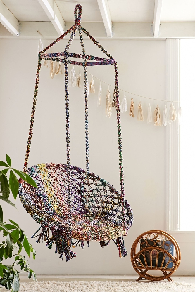 Tangled Story: 35 Ideas of Macrame in Interior, фото № 31