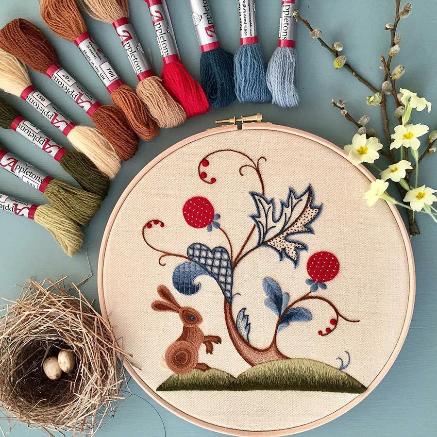 На стыке прошлого и настоящего: как британская вышивальщица возрождает культурные традиции, фото № 11