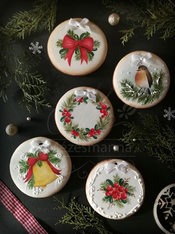 Golden Gingerbread: 30 Handmade Sweets By Hungarian Baker Judit Czinkne Poor, фото № 29