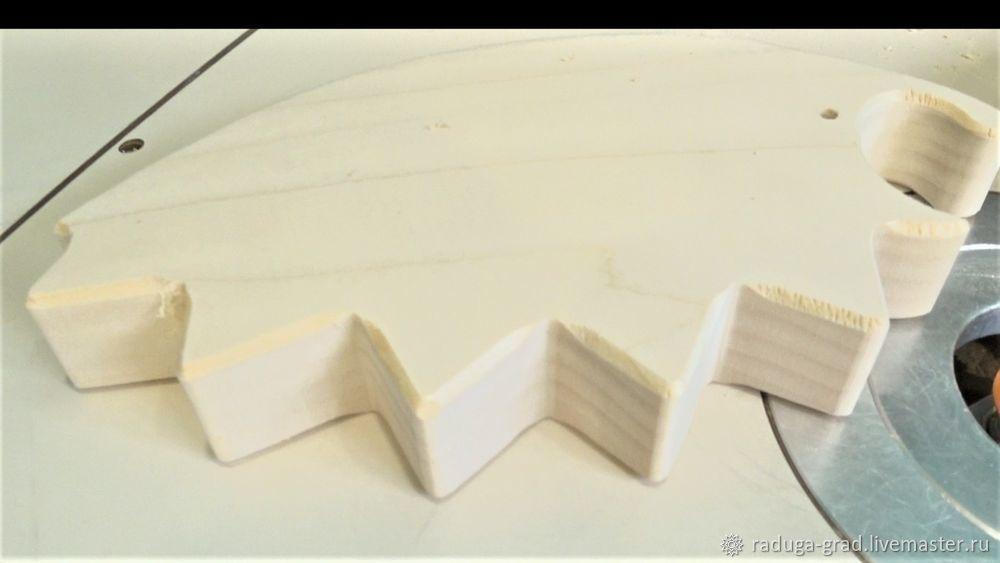Качественный край на деревянной игрушке и способ фрезеровки мелких деталей, фото № 2