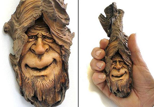 Нэнси Татл превращает коряги и обломки деревьев в сказочные деревянные скульптуры, фото № 44