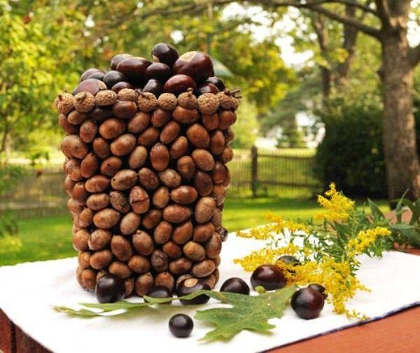 22 Autumn Ideas For Creative Use Of Acorns, фото № 17
