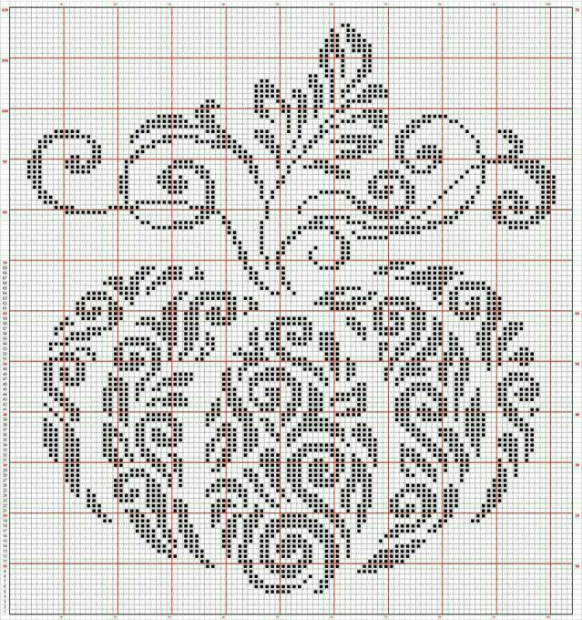 In Love With Autumn: 50+ Cross Stitch Patterns, фото № 39