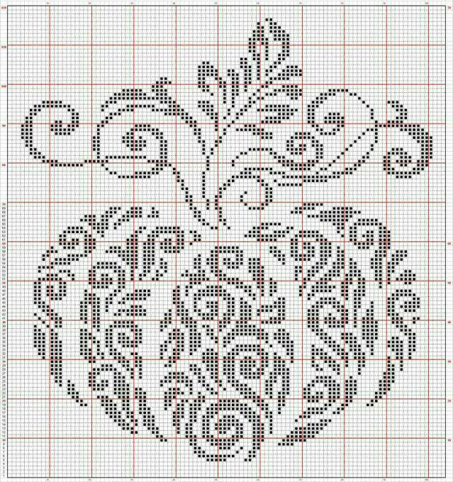 Влюбленные в осень: 50+ схем для вышивки крестиком, фото № 39