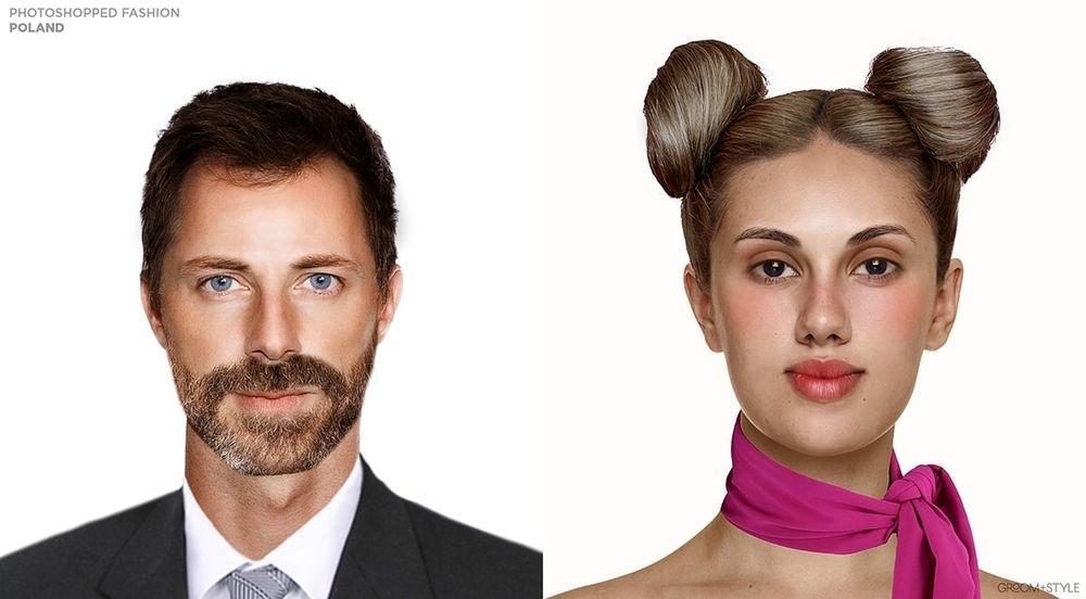 Такая разная мода: 20 дизайнеров изменяли одних и тех же людей в соответствии с модой их страны (США и Польша вас точно удивят), фото № 14