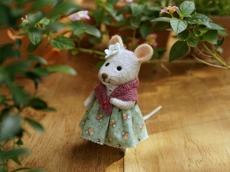 Mouse Stories: Adorable Felted Toys By Little Wool Tails, фото № 20