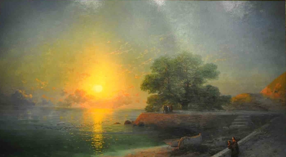 Unique Exhibition of Paintings by Aivazovsky, фото № 1