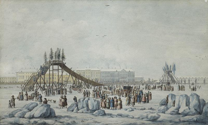 Зимние забавы до революции. Часть 5, фото № 15
