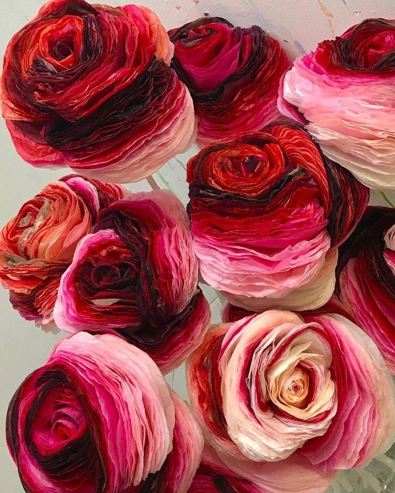 Потрясающие бумажные цветы датской художницы arianne riksen-cott ansen, фото № 39