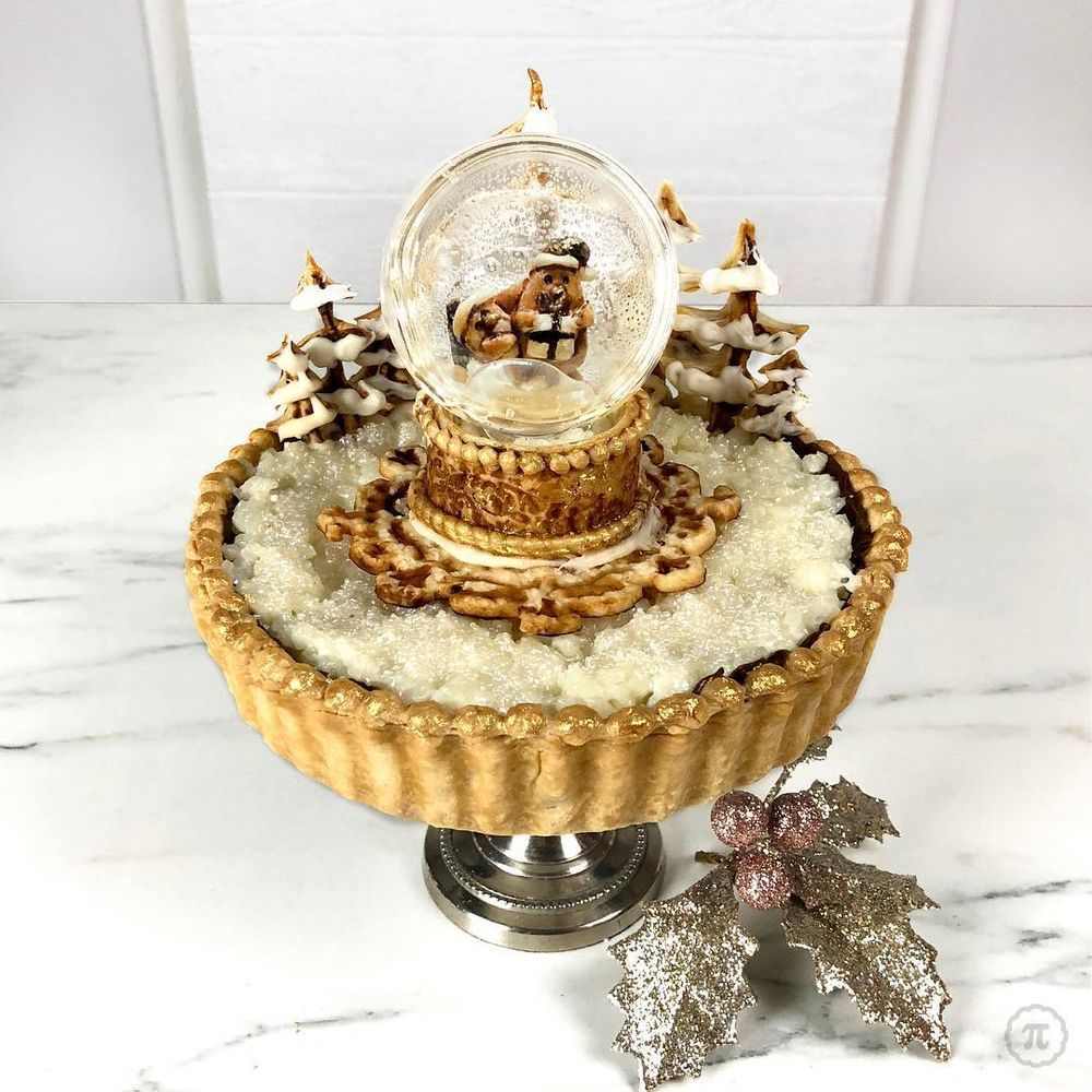Self-Taught Cook Named Jessica Bakes Christmas Pies — And They Are Gorgeous!, фото № 15