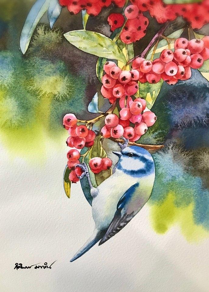 Watercolour Virtuoso: Kitipong Ti, фото № 18