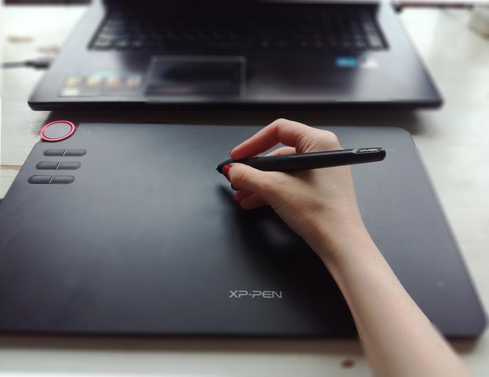 Обзор графического планшета -en. Возможности и помощь в работе. Взгляд керамиста, фото № 1