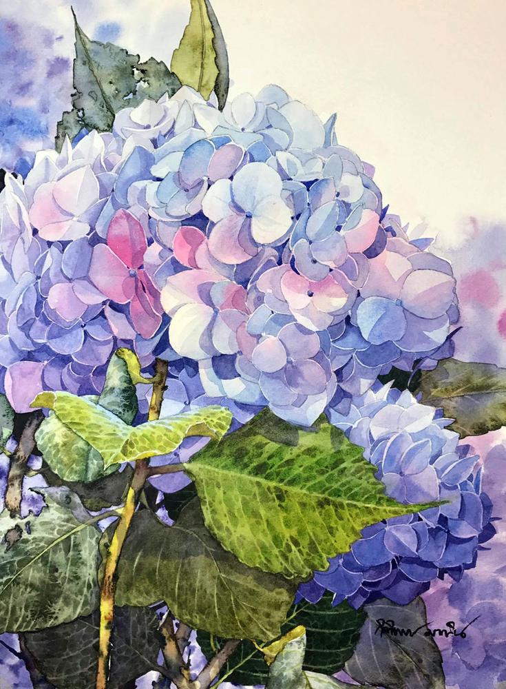 Watercolour Virtuoso: Kitipong Ti, фото № 14