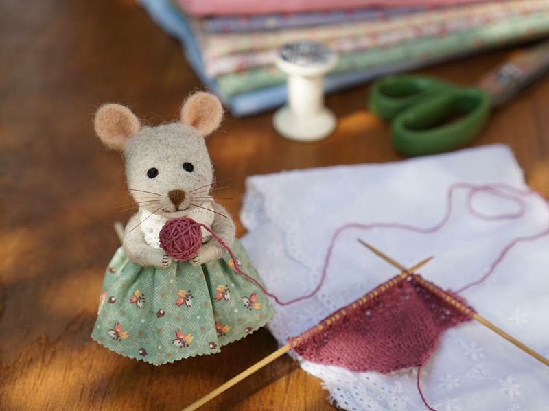 Mouse Stories: Adorable Felted Toys By Little Wool Tails, фото № 19