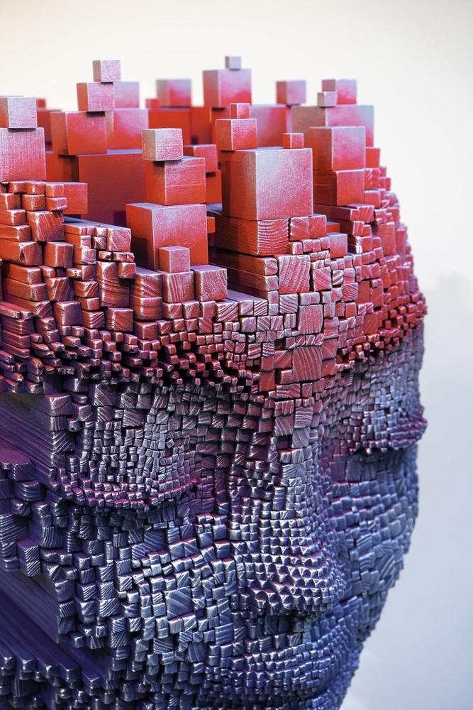Необычные деревянные скульптуры от Джил Брювель, фото № 3