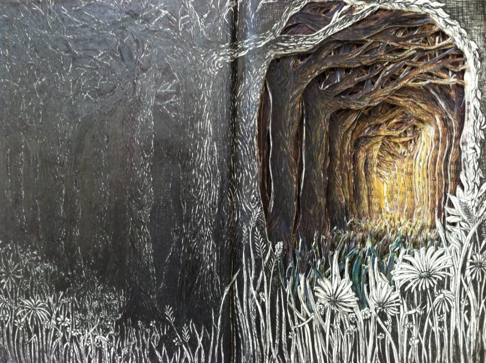 Isobelle Ouzman создаёт удивительные многослойные композиции, вырезанные из старых книг, фото № 10