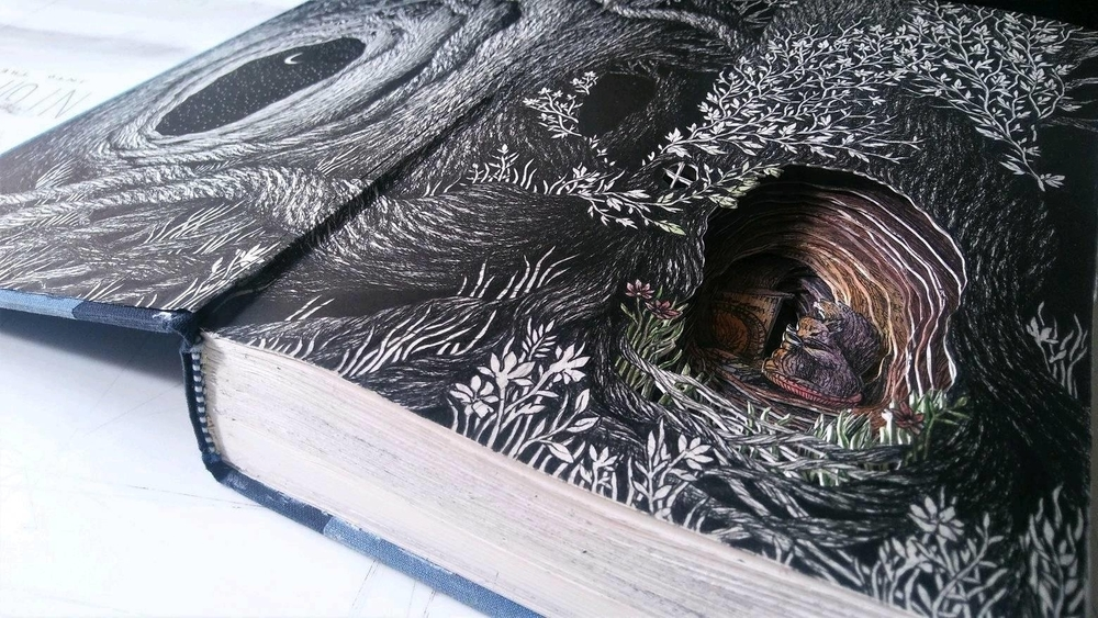 Isobelle Ouzman Creates Amazing Multi-Layered Compositions Cut Of Old Books, фото № 8