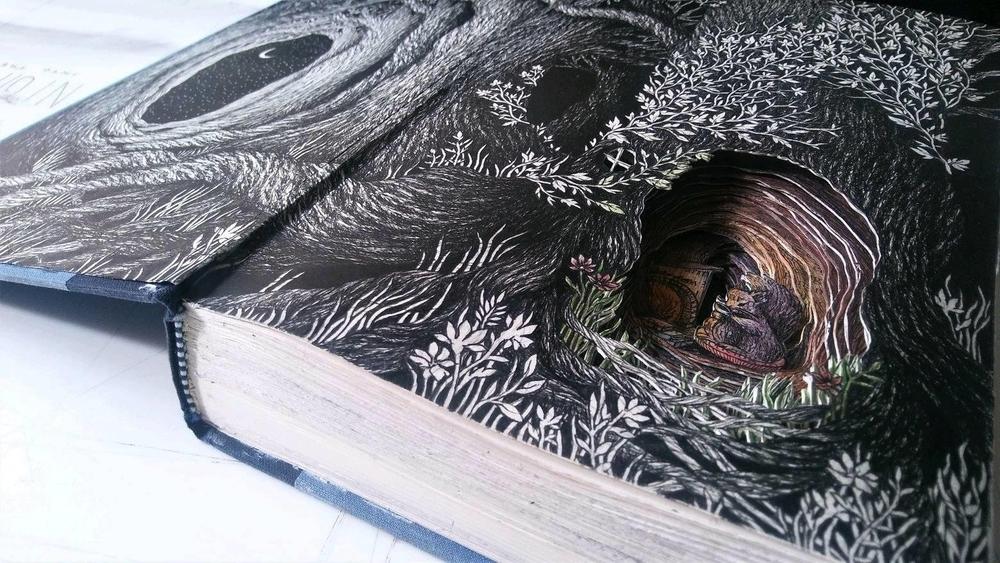 Isobelle Ouzman создаёт удивительные многослойные композиции, вырезанные из старых книг, фото № 8