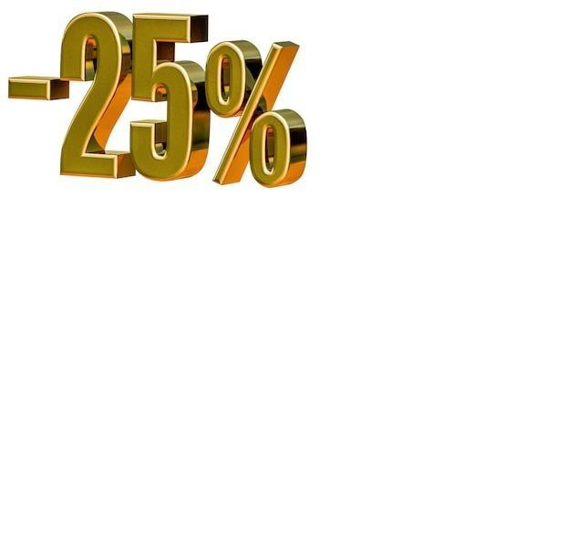 акция, скидка 25%, распродажа, скидка