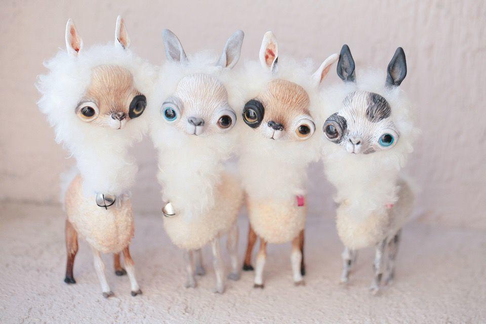 Alien Invasion Of Cuteness: 25+ Unusual Creatures By Anna Nazarenko, фото № 3