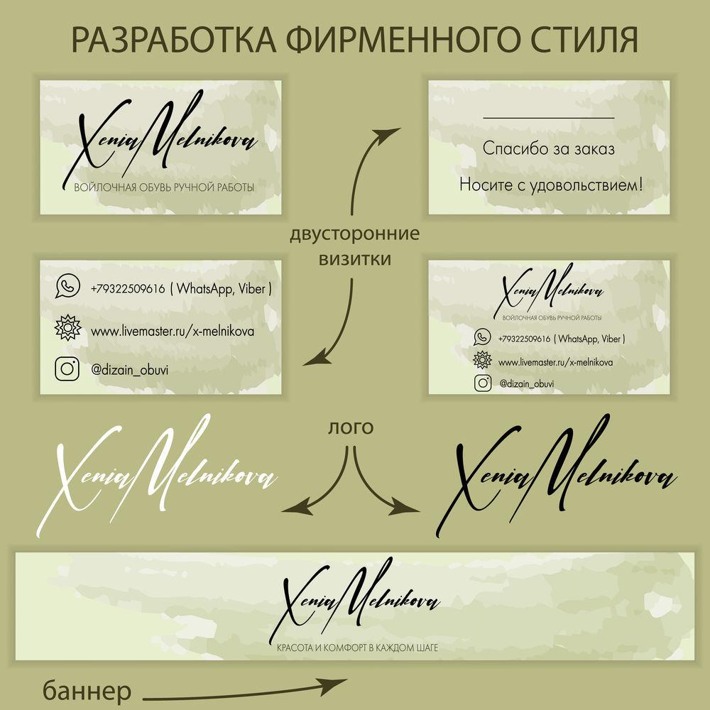 иллюстрация, разработка фирменного стиля