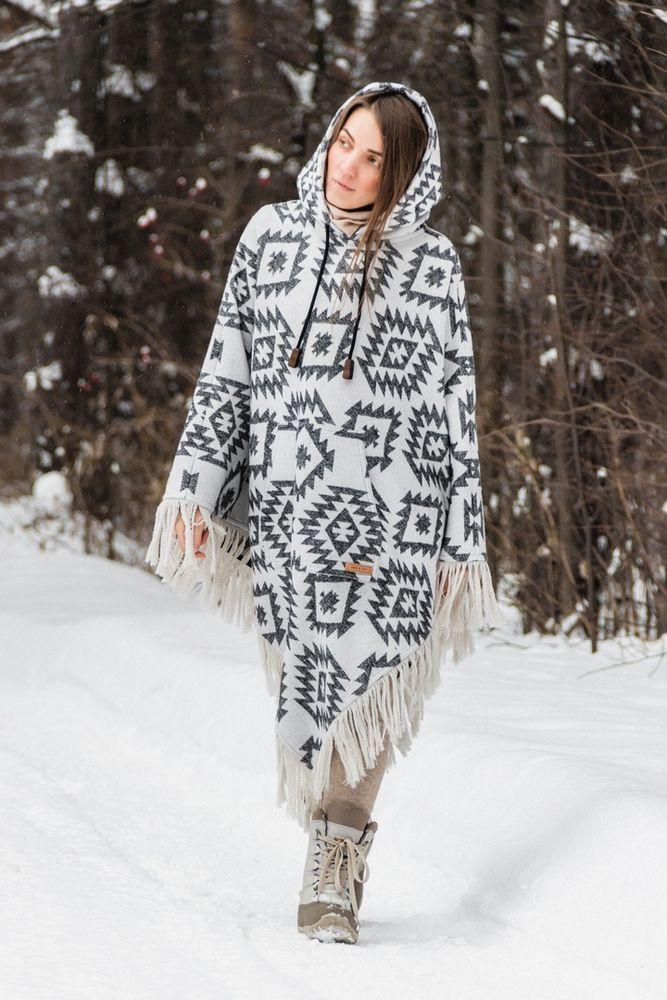 пончо для женщины, навахо, прерии