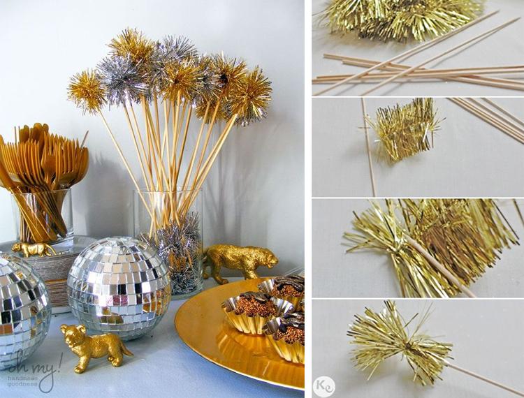 Золотой новогодний декор: 15 классных идей, фото № 38