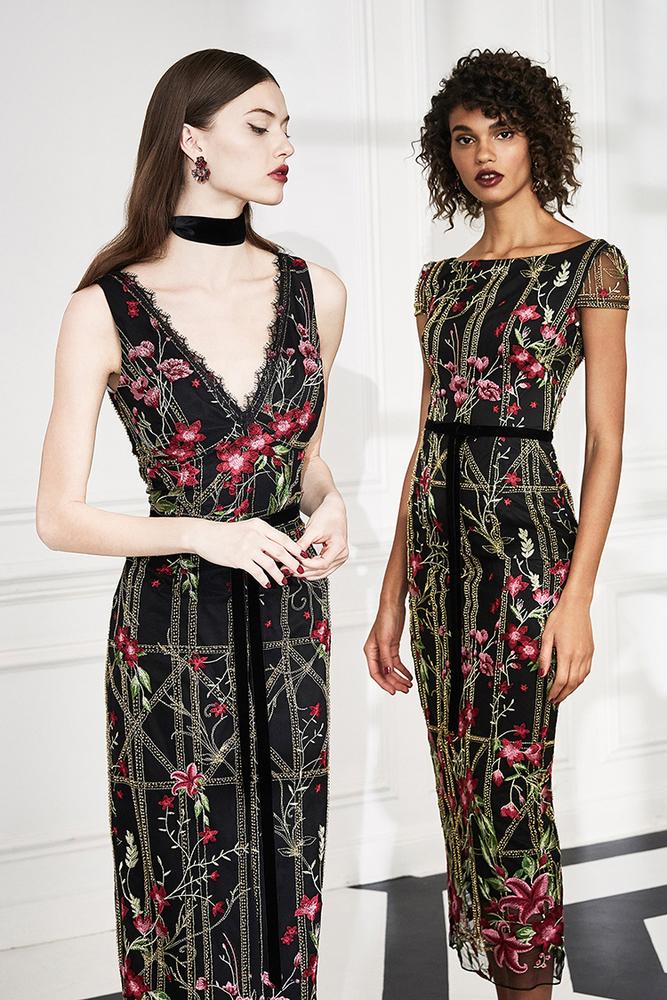 Drama Marquess: Fashion Collection Marchesa Notte Fall 2019, фото № 12
