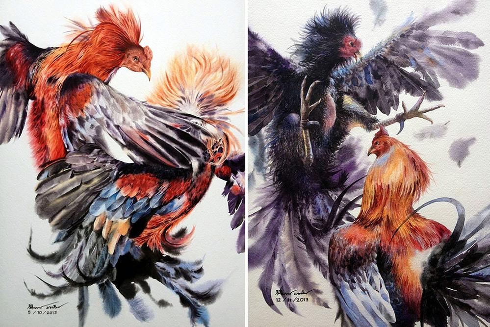 Watercolour Virtuoso: Kitipong Ti, фото № 37