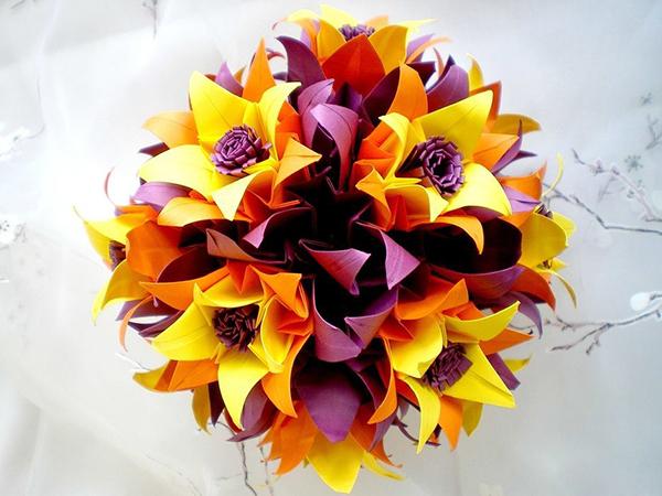 Как сделать цветы из бумаги: 16 мастер-классов по созданию неувядающей красоты своими руками, фото № 32