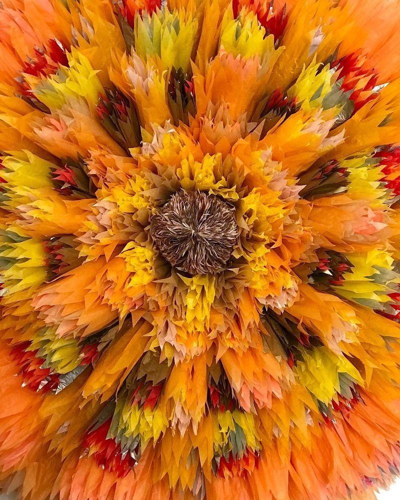 Потрясающие бумажные цветы датской художницы arianne riksen-cott ansen, фото № 17