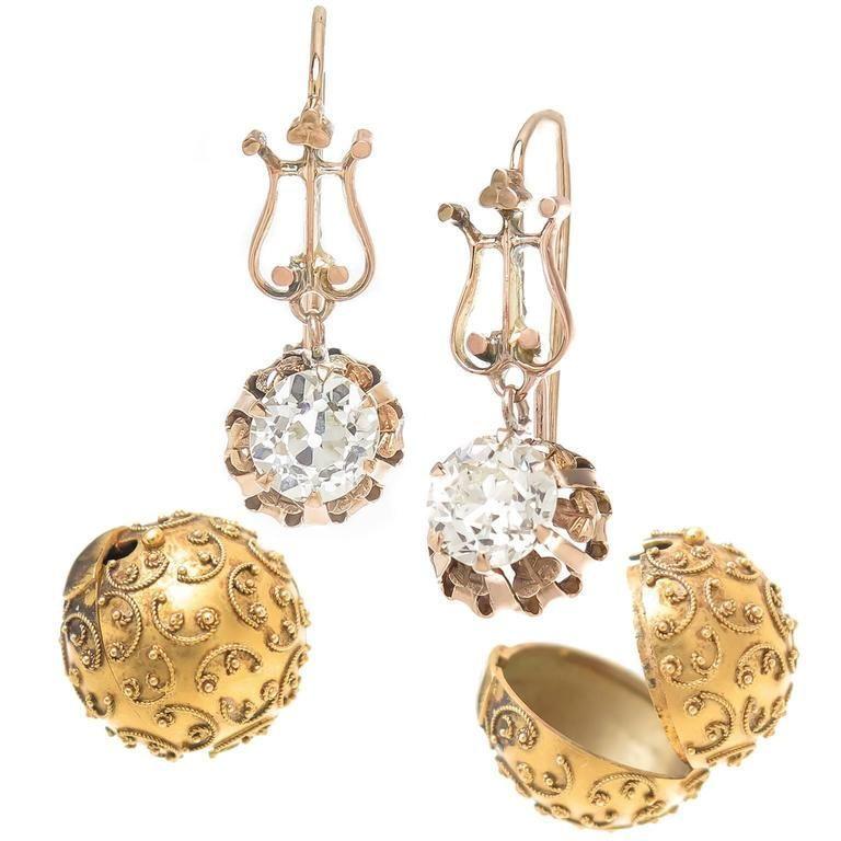 history, earrings, interesting story