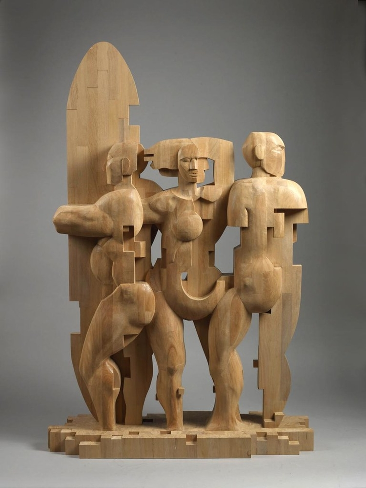 Striking Wooden Sculptures By Hsu Tung Han, фото № 23