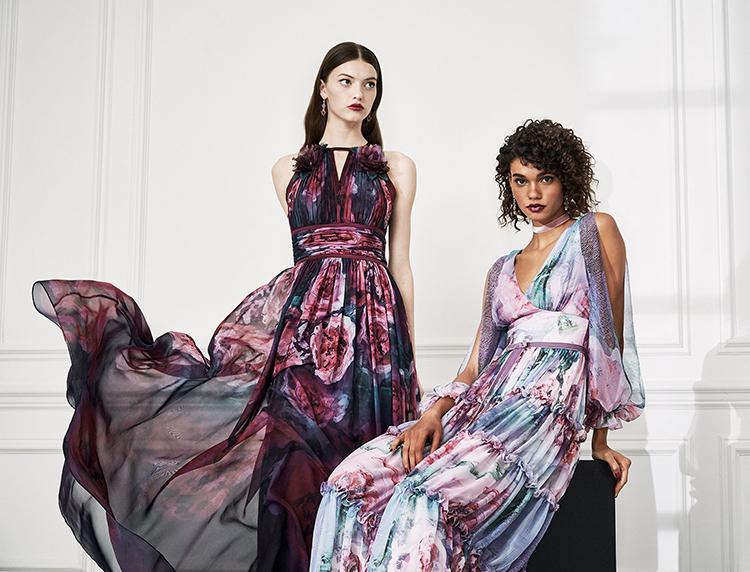 Drama Marquess: Fashion Collection Marchesa Notte Fall 2019, фото № 20