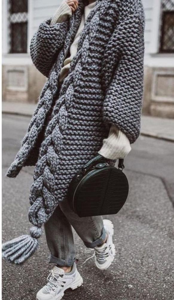 К зиме готовы! 50 идей вещей для вязания спицами, фото № 21