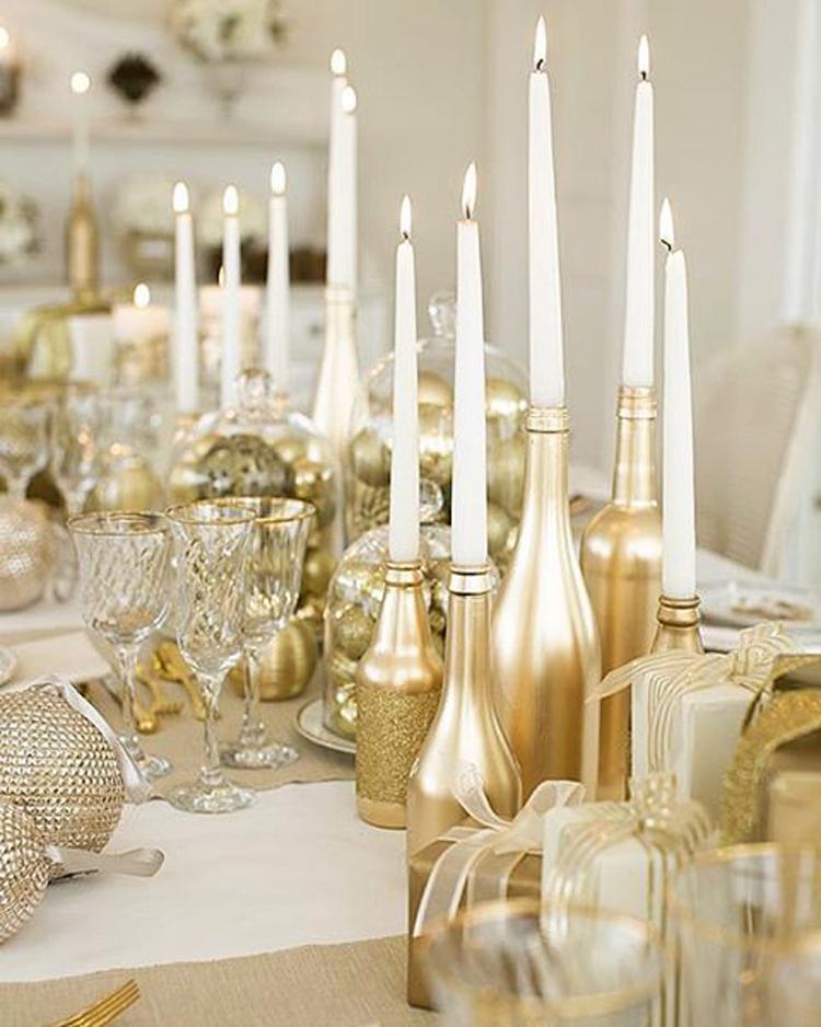 Золотой новогодний декор: 15 классных идей, фото № 22