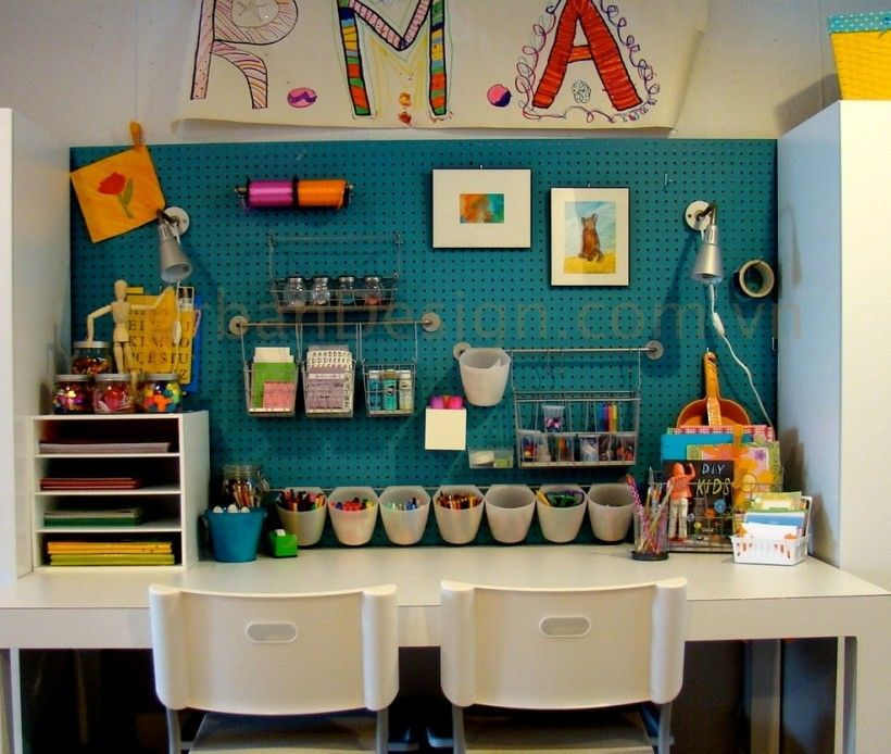 26 Design Ideas for Children's Creativity Area, фото № 1